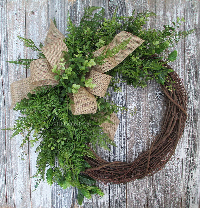 New Grapevine Wreaths