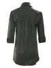 3/4 Sleeve Jenna Black - Silky Cotton / Nylon / Spandex