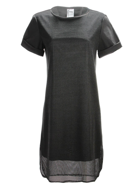 Shawn Mesh Dress Black