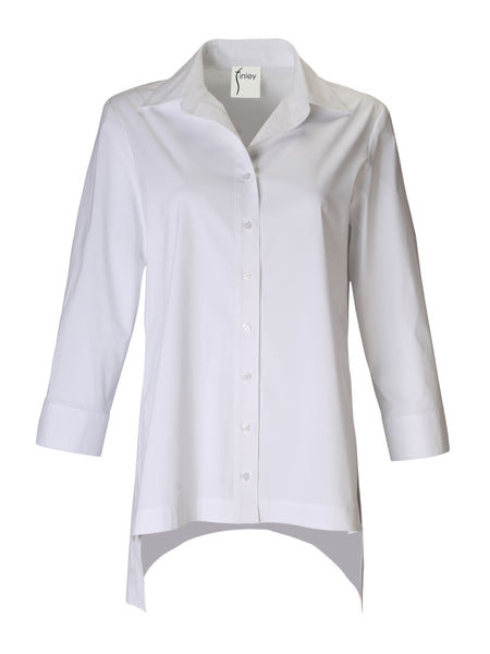 Roxanna Tunic Solid White