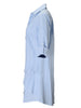 Jenna Dress Pale Periwinkle Polished Cotton