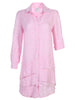 Washed Linen Jenna Dress Pink