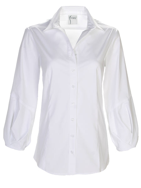 Mercy Shirt White Solid