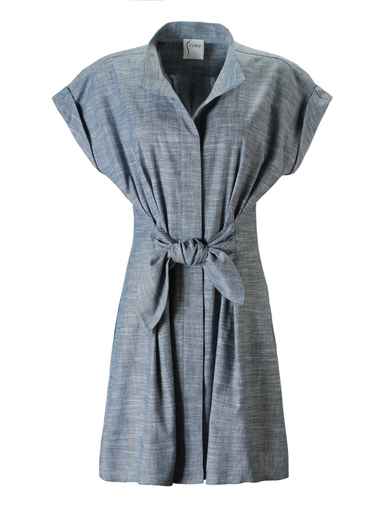 Rocky Dress Stretch Chambray