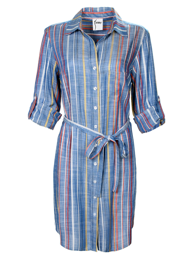 Alex Shirtdress Grover Stripe