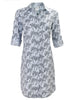 Alex Shirtdress Desert Palm Print