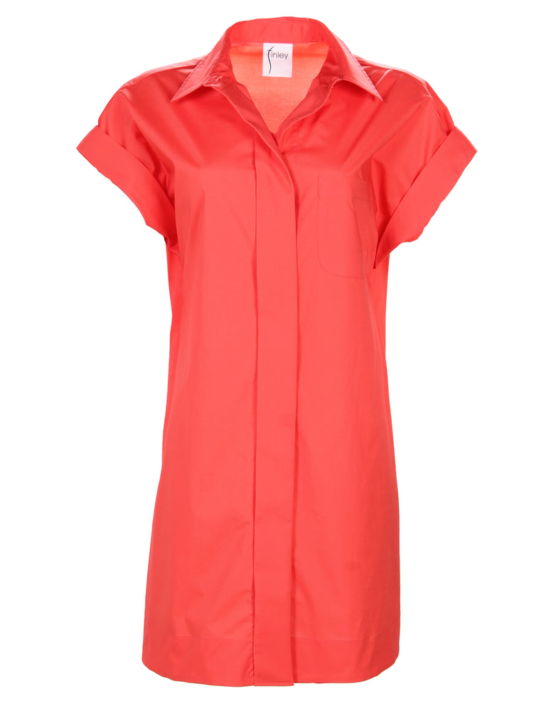 Charlie Dress Coral