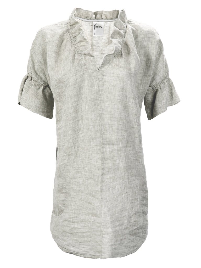 Washed Linen Crosby Dress Natural