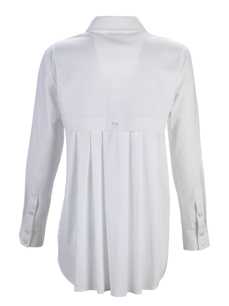 Diedre Long Sleeve Pleat Back