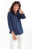 3/4 Sleeve Alex Shirt Silky Poplin