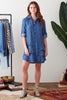 Jenna Dress Lyocell Denim