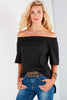Sabre Off-Shoulder Black