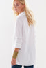 Trapeze Top 3/4 sleeve White