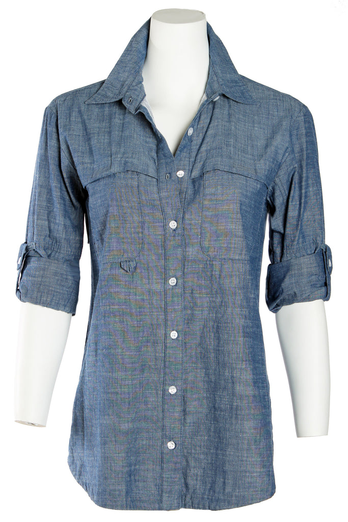 Fishing Shirt Washed Chambray