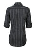 Joey Tech Black/White Pinstripe