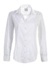 Johnny Shirt White Silky Poplin