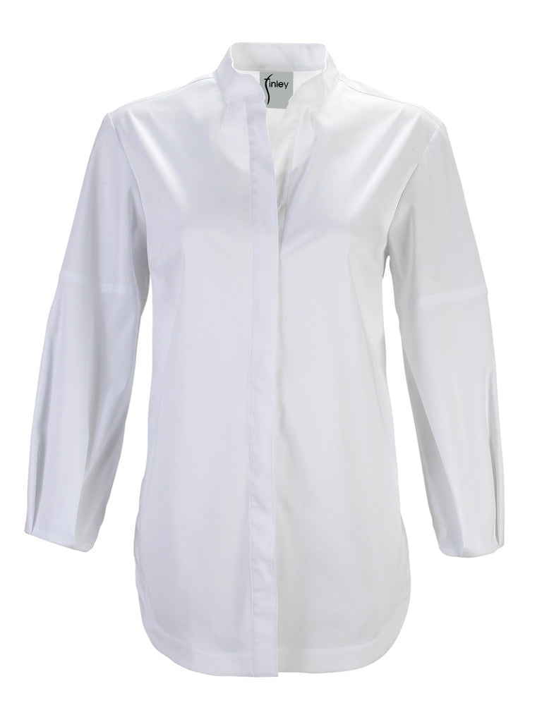 Lara Long Sleeve White