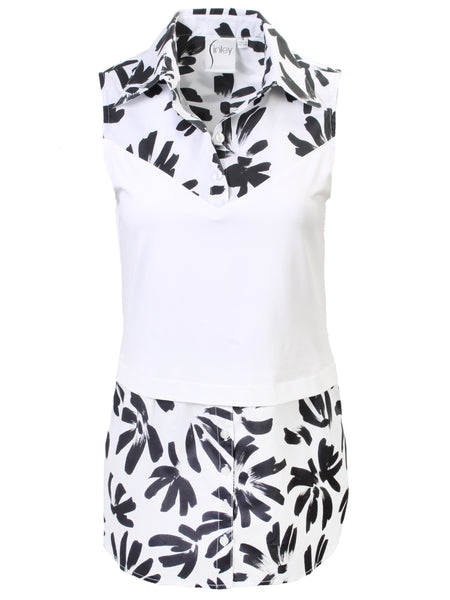 Layering Tank Thatched Floral
