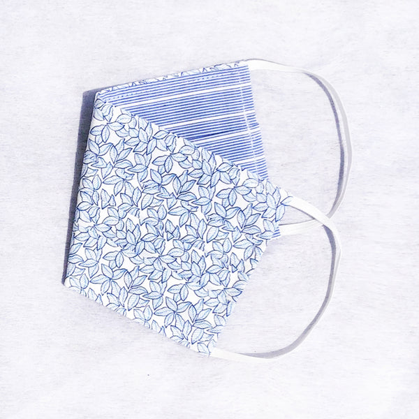 Pack of 3 Face Masks Little Leaves Print - available now!
