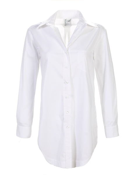 Luca Tunic Solid White
