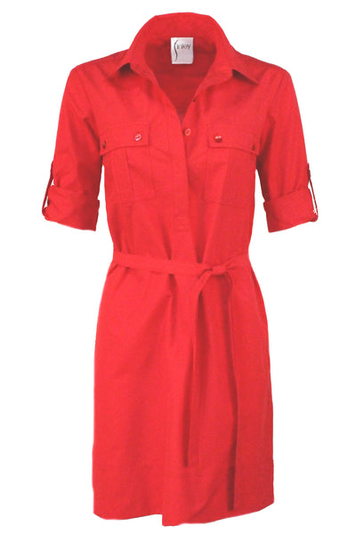 Marty Shirtdress Watermelon