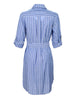 Parker Shirtdress Blue Stripe