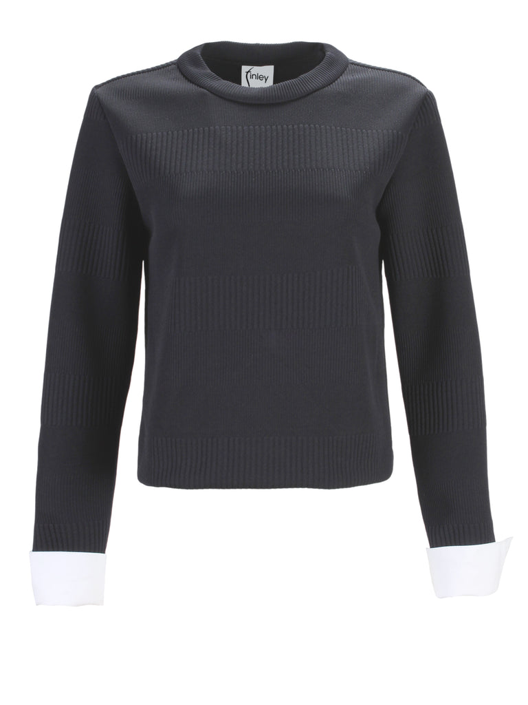 Molly Polished Rib Knit