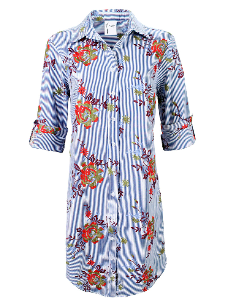 Alex Shirtdress Autumn Floral