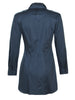 Sylvia Tie Front Long Sleeve Navy