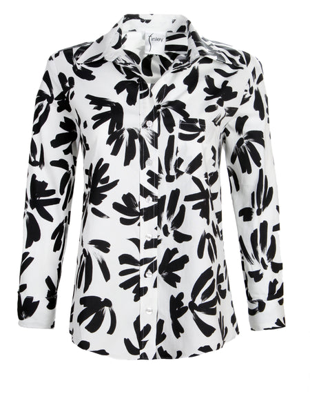 Alex Shirt Thatched Floral