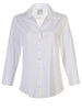 Alex Window-Back Silky Poplin Shirt