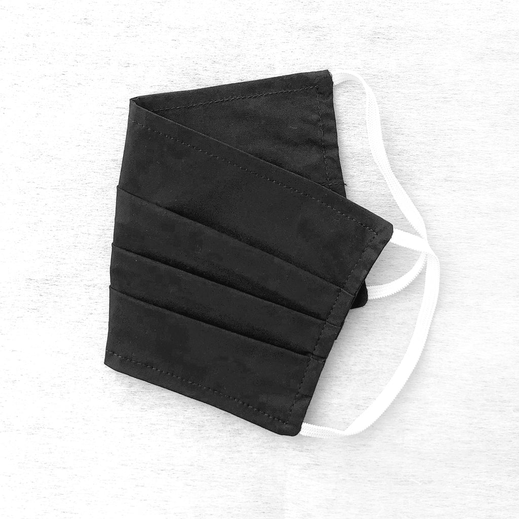 Pack of 3 Face Masks Solid Black - available now!