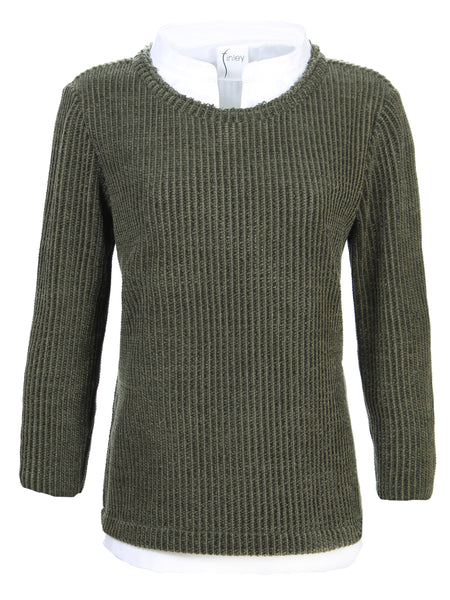 Culver Chenille Knit Olive