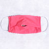 Pack of 3 Face Masks Pink Clip Dot - available now!
