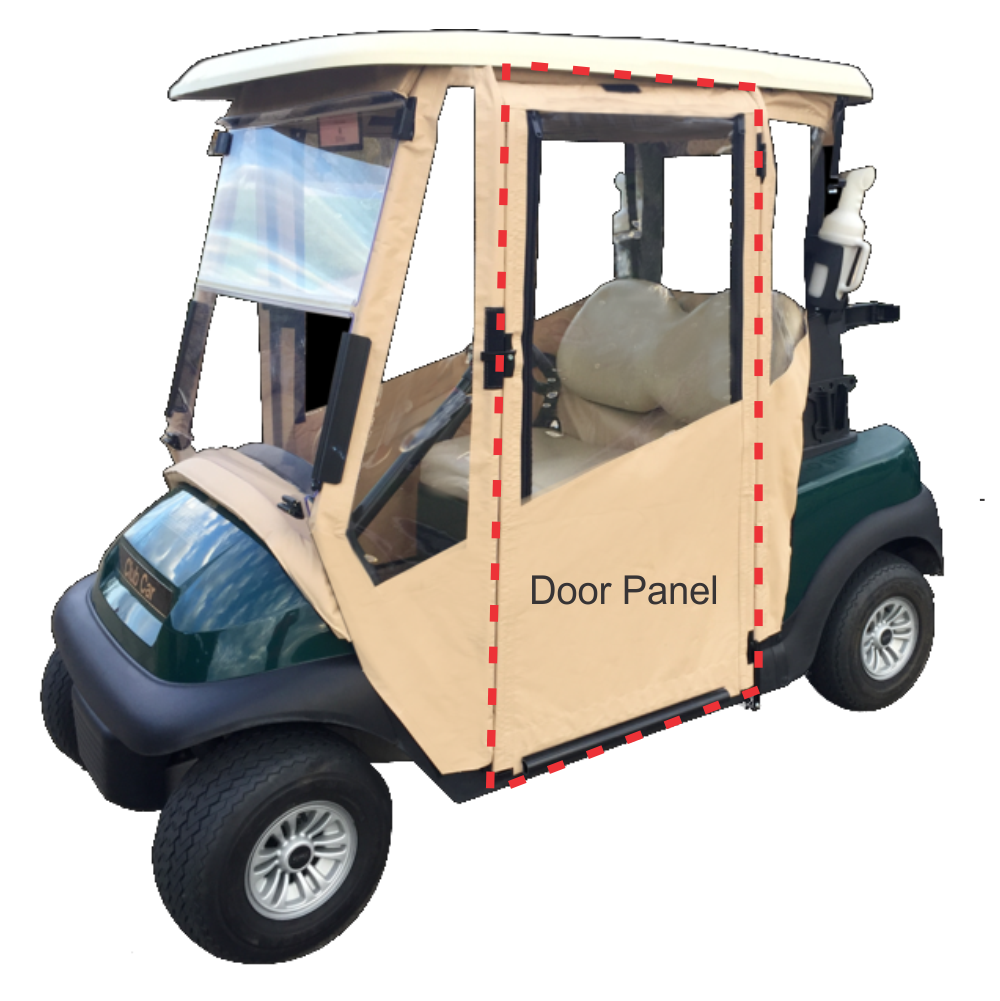 Club Car DS 2000+ - Door Panel Fabric
