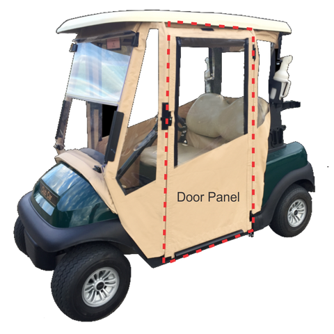 Yamaha G14-G19 - Door Panel Fabric