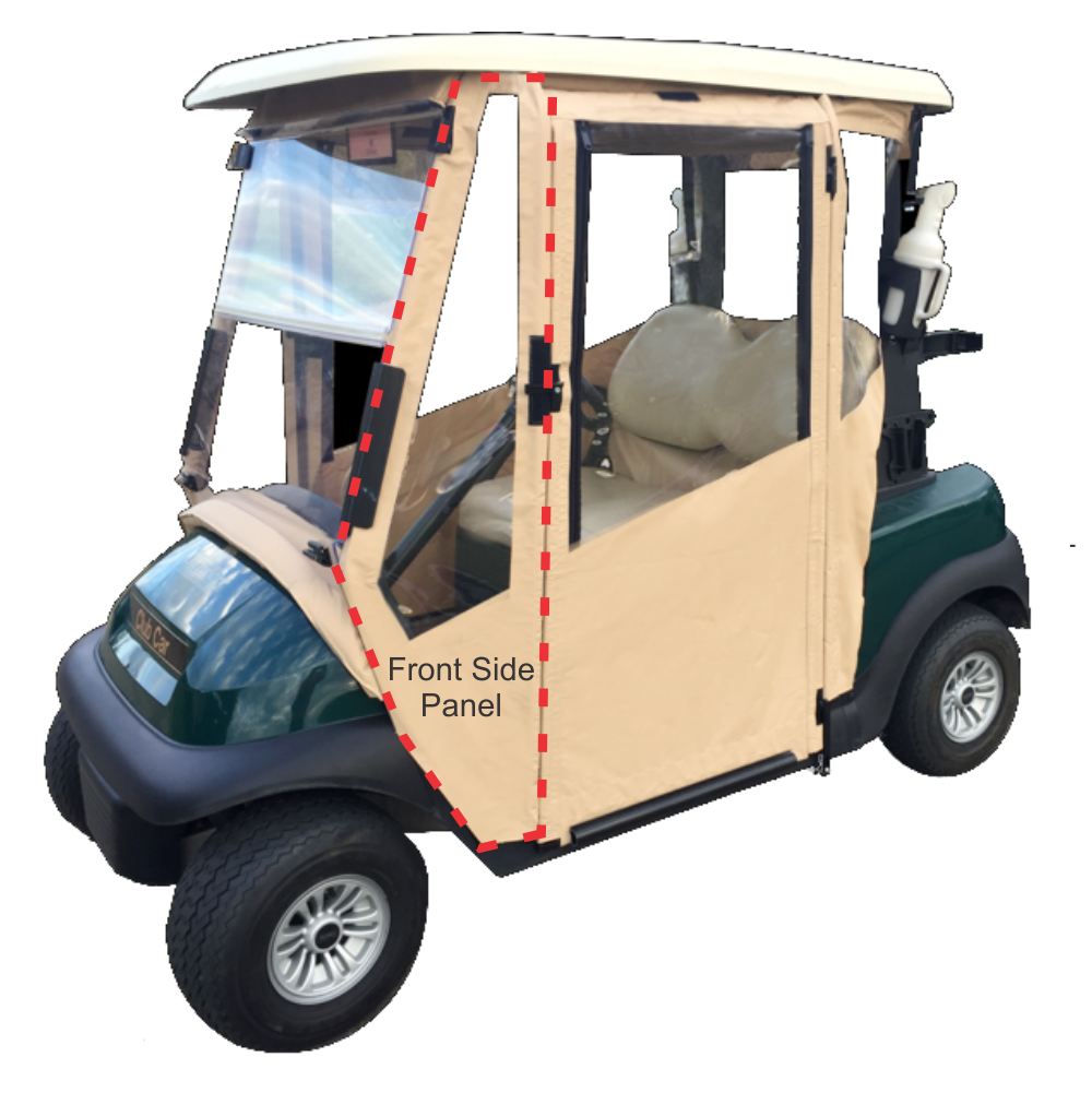 Club Car DS Pre2000 - Front Side Panel Fabric