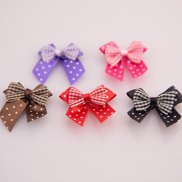 Pet Grooming Bows - Bow Ties - Detail