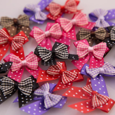 Pet Grooming Bows - Bow Ties - Main
