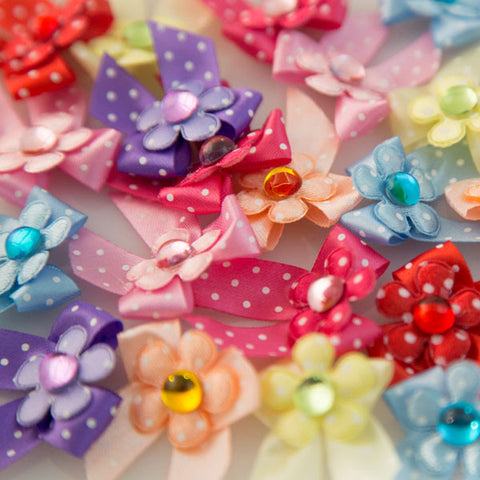 Pet Grooming Bows - Jelly Drops - Main