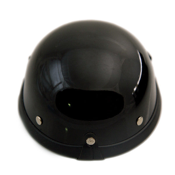 Dog Helmet - Black - Back