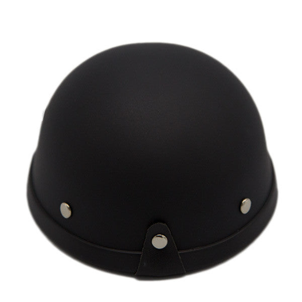 Dog Helmet - Matte Black - Back