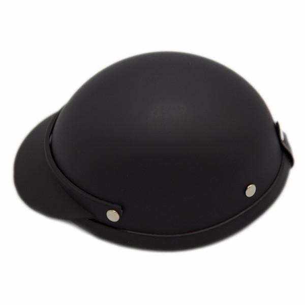 Dog Helmet - Matte Black - Side