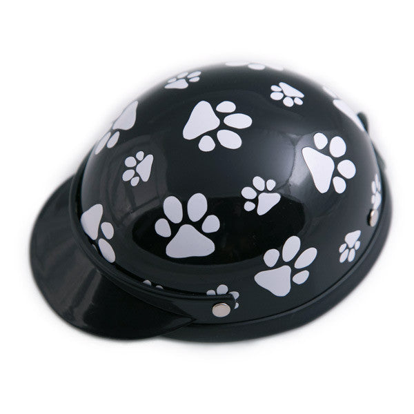 Dog Helmet - Black Pawz - Main