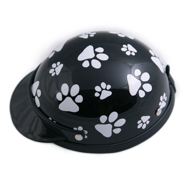 Dog Helmet - Black Pawz - Side