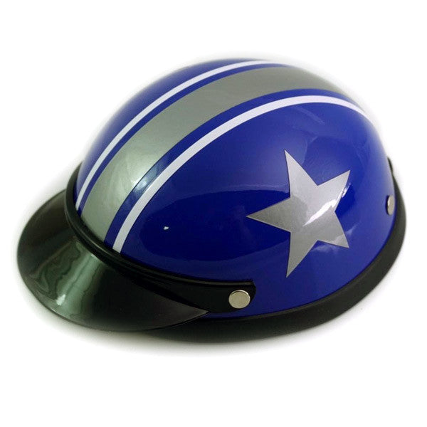 Dog Helmet - Blue Star - Main