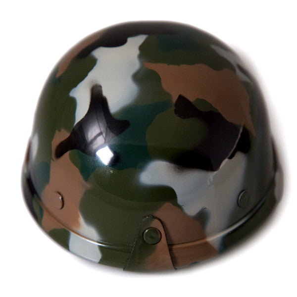 Dog Helmet - Camouflage - Back