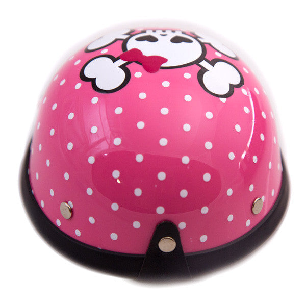 Dog Helmet - Cutie Skull - Back
