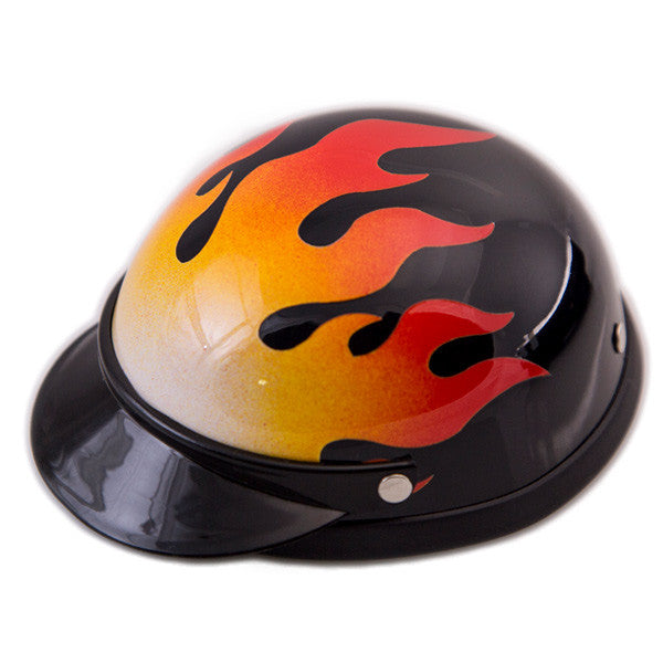 Dog Helmet - Flame - Main