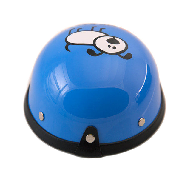 Dog Helmet - I Love My Daddy - Blue - Back